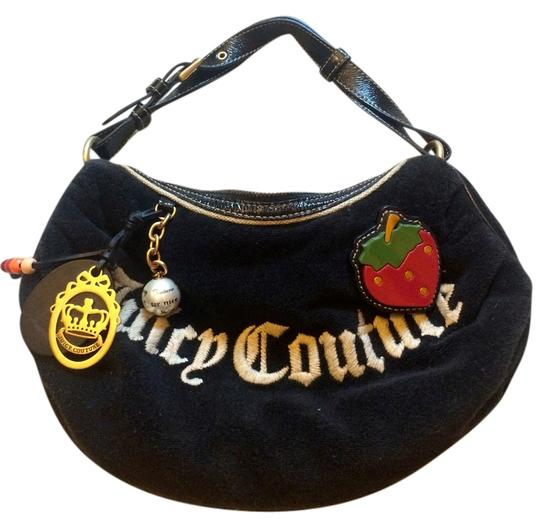 Juicy Couture Terry Strawberry Hobo Bag