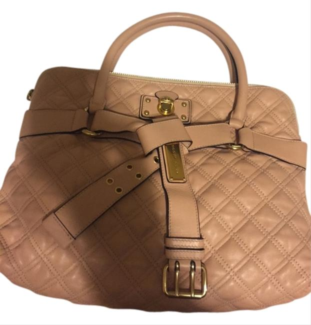 Marc Jacobs Peach/Pink Quilted Tote Marc Jacobs Peach/Pink Quilted Tote Image 1