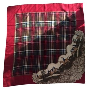 Liz Claiborne Large plaid scarf