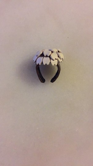 Other Artisan Leather Flower Ring