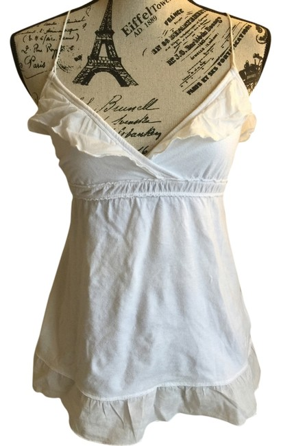 Abercrombie & Fitch Top off white
