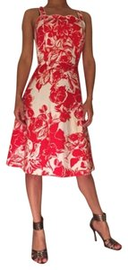 Madison Leigh short dress Red And White on Tradesy
