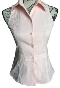 Express Button Down Shirt baby pink
