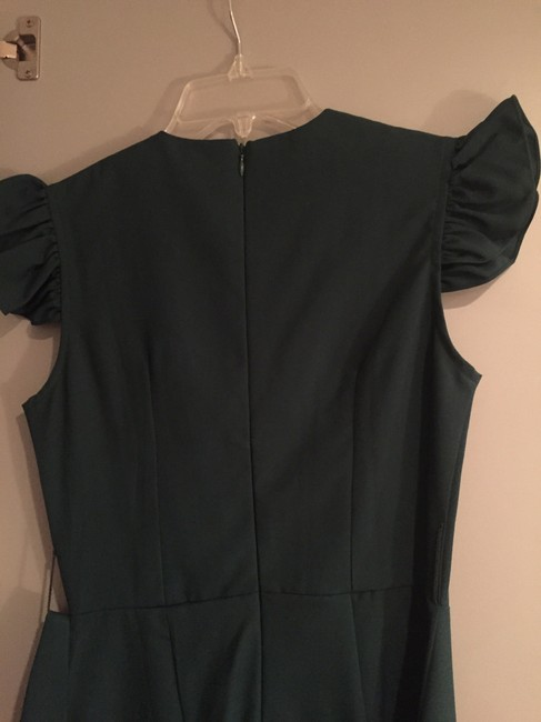 Shumaq Straightskirt Belted Fitted Short Dress Image 3