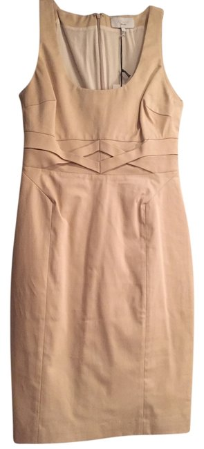 Preload https://img-static.tradesy.com/item/3893704/adam-beige-style-er9mc705-lippes-knee-length-workoffice-dress-size-2-xs-0-0-650-650.jpg