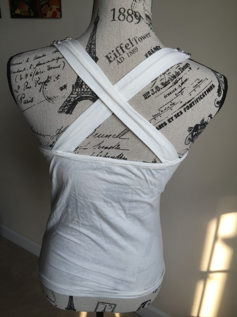 Charlotte Russe Top off white