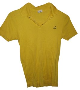 Head T Shirt yellow