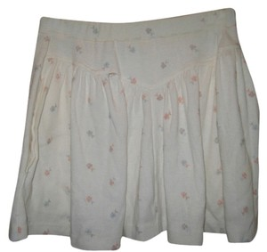 Christian Dior Mini Skirt white