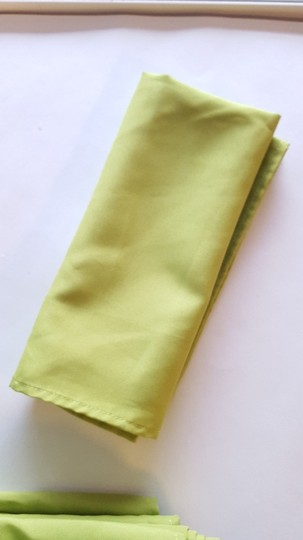 Lime Green 12 Napkins- Chartreuse Tablecloth