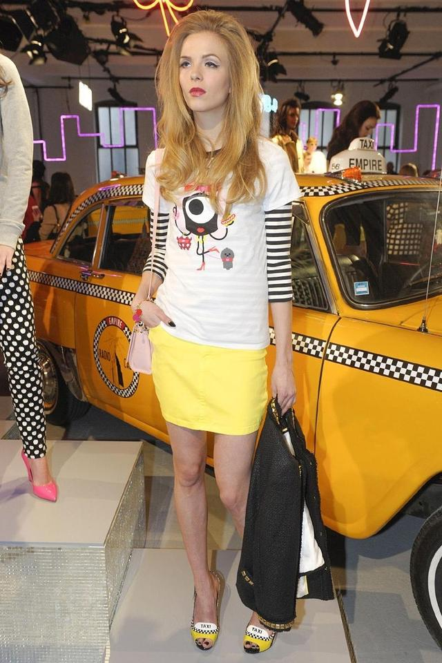d38880bddb18 Kate Spade Taxi Yellow Le-taxi Patent Leather Stiletto Open-toe Rare ...