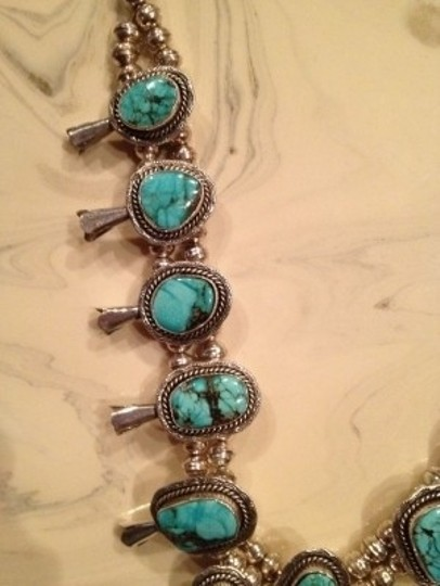 Other Squash Blossom Navajo Necklace