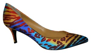 Nine West multi print Pumps