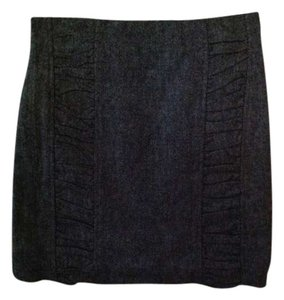 BB Dakota Mini Skirt heathered gray