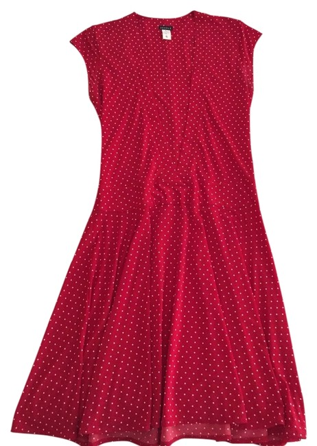 Searle short dress Red With White Polka Dots on Tradesy