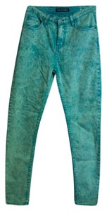 Ziggy Acid Wash High Waisted Skinny Jeans-Acid