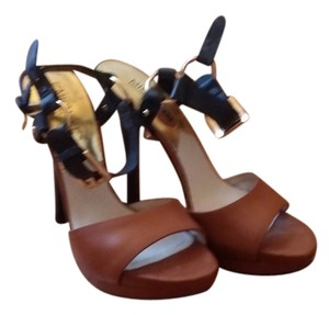 Michael Kors Black/Cognac Sandals