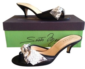 Sesto Meucci Black Sandals