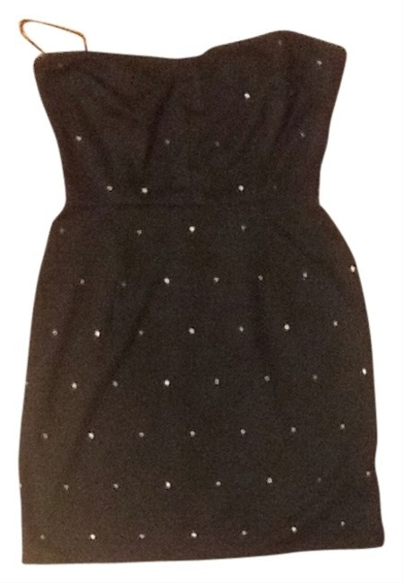 Silence + Noise Studded Strapless Dress