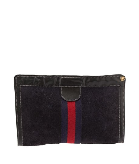 Preload https://item3.tradesy.com/images/gucci-vintage-parfums-navy-47346-blue-suedeleather-clutch-3897442-0-0.jpg?width=440&height=440