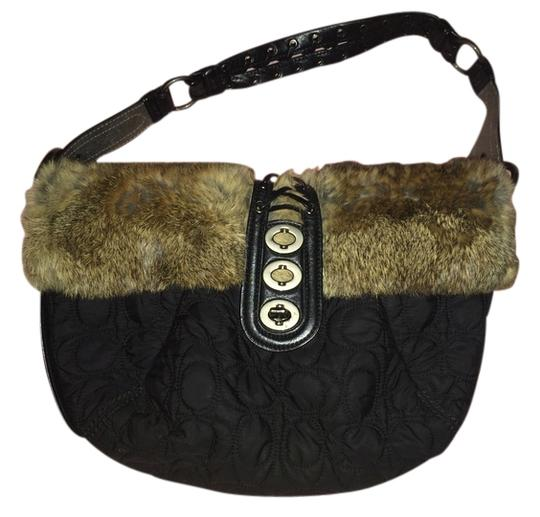 Preload https://item1.tradesy.com/images/coach-hobo-bag-black-with-rabbit-fur-3897790-0-0.jpg?width=440&height=440