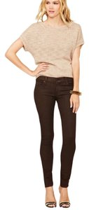 7 For All Mankind Legging Low Rise Skinny Jeans-Coated