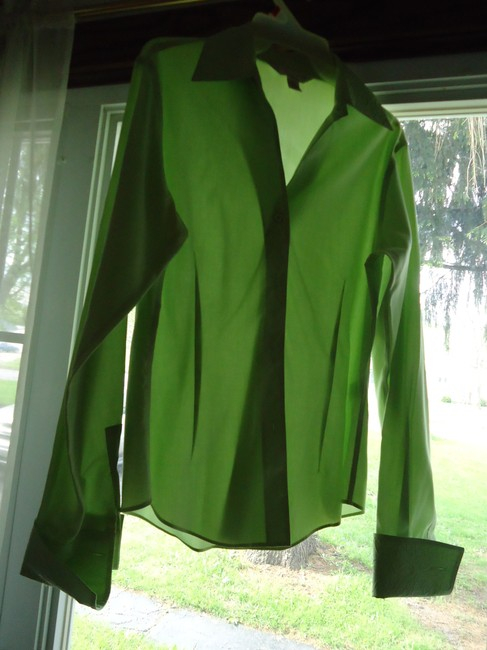 Casual Corner Top pale lime green Image 4