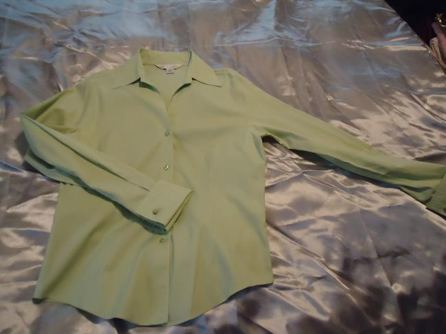 Casual Corner Top pale lime green Image 6