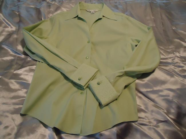 Casual Corner Top pale lime green Image 7