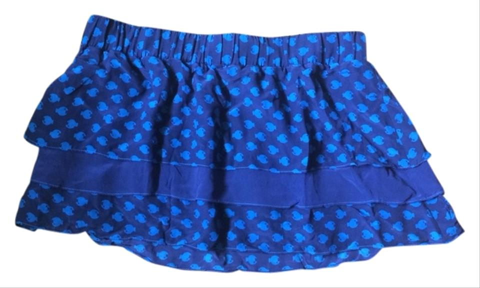 0188abc09f12e Marc by Marc Jacobs Navy Blue Swimwear Skirt Cover-up/Sarong Size 4 ...