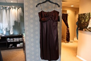 Nicole Miller Expresso Bg0305 Dress