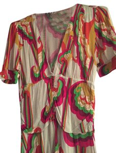 T-Bags Los Angeles short dress Multi Color (Mint, Bright Green, Bright Pink, Bright Orange) on Tradesy