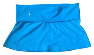 Ralph Lauren Ralph Lauren Turquoise Terry Cloth Skirt