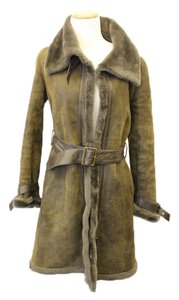 Searle Shearling Jacket Leather Fur Penny Lane Fur Coat