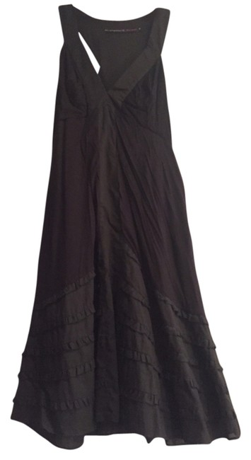 Development by Erica Davies Muted Black Above Knee Short Casual Dress Size 0 (XS) Development by Erica Davies Muted Black Above Knee Short Casual Dress Size 0 (XS) Image 1