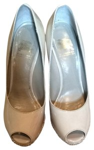 Burberry Nude With Gold Studs Pumps