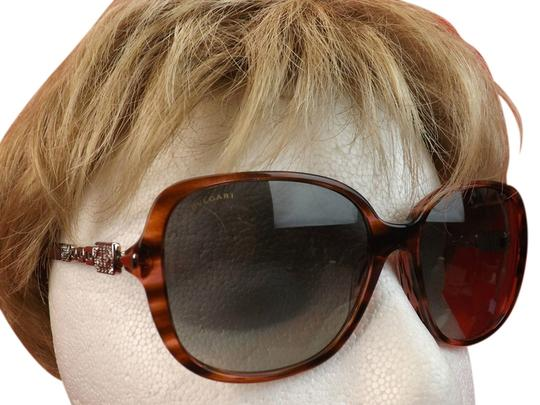 BVLGARI 8112 B MULTICOLOR FRAME JEWELED CRYSTALS 5234/11 SUNGLASSES ITALY Image 1