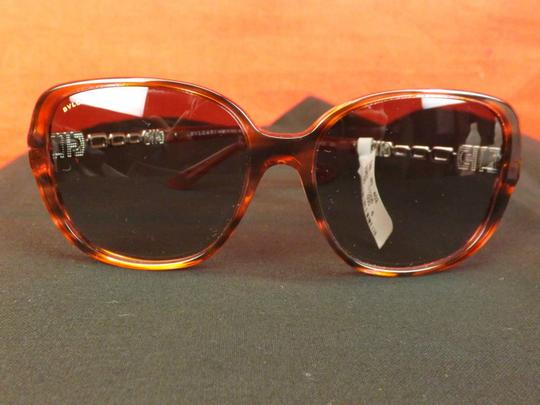 BVLGARI 8112 B MULTICOLOR FRAME JEWELED CRYSTALS 5234/11 SUNGLASSES ITALY Image 2