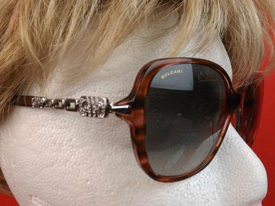 BVLGARI 8112 B MULTICOLOR FRAME JEWELED CRYSTALS 5234/11 SUNGLASSES ITALY Image 4
