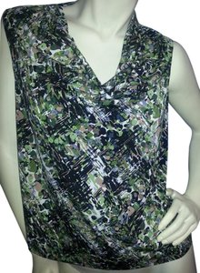 dressbarn Top green camiflauge
