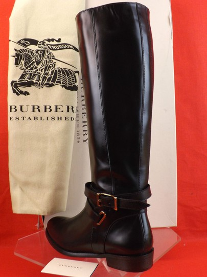 Burberry Black Boots