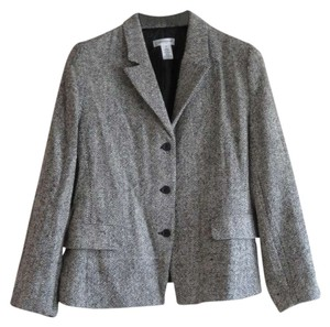 Isaac Mizrahi for Target Tweed Black/White Blazer