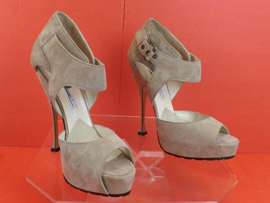 Brian Atwood grey Pumps Image 2