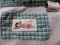 World Wide Sportsman World Wide Sportsman Seersucker Outdoor Fishing Shirt sz M Vented Image 3