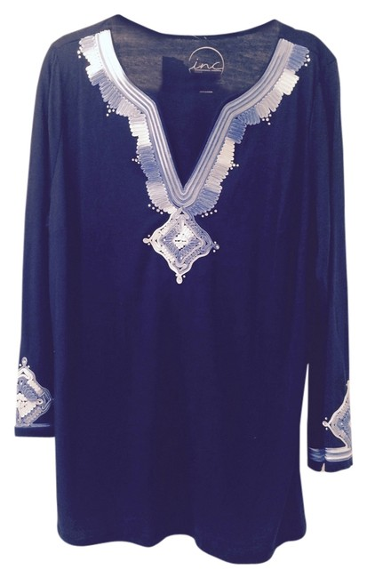 Preload https://item3.tradesy.com/images/inc-international-concepts-deep-twilight-navy-blue-spirited-collection-1x-tunic-size-18-xl-plus-0x-3901657-0-0.jpg?width=400&height=650