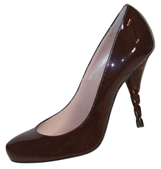 Preload https://item2.tradesy.com/images/emporio-armani-chocolate-patent-leather-sculptured-40-pumps-size-us-10-regular-m-b-3902686-0-0.jpg?width=440&height=440