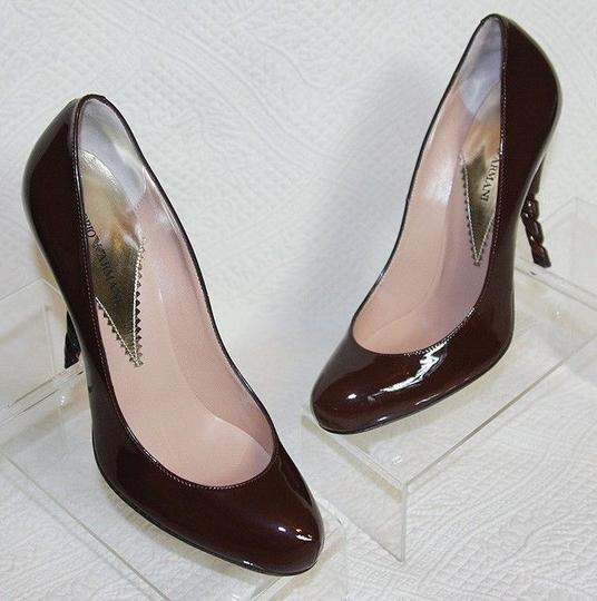 Emporio Armani Chocolate Pumps