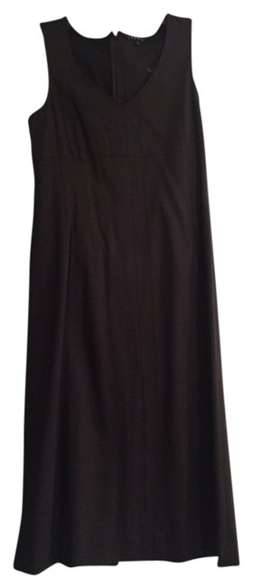 Theory Black Not Your Mama's Basic Black... Knee Length Work/Office Dress Size 2 (XS) Theory Black Not Your Mama's Basic Black... Knee Length Work/Office Dress Size 2 (XS) Image 1