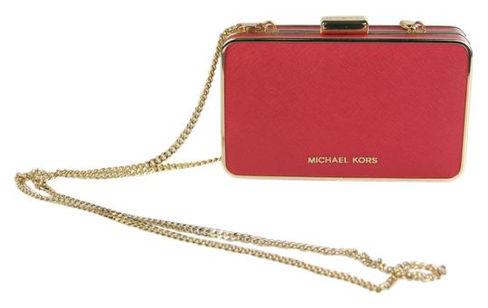 Preload https://item2.tradesy.com/images/michael-kors-elsie-saffiano-red-leather-clutch-3903346-0-0.jpg?width=440&height=440
