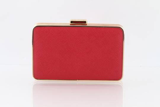 Michael Kors Red Clutch Image 1