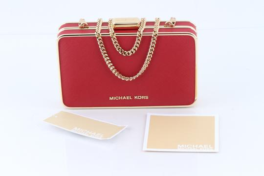 Michael Kors Red Clutch Image 10